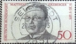 Stamps Europe - Germany -  Scott#1201 , intercambio 0,20 usd. , 50 cents. , 1975