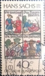 Stamps Europe - Germany -  Scott#1206 , intercambio 0,20 usd. , 40 cents. , 1976