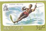 Stamps : America : Antigua_and_Barbuda :  ESQUÍ ACUATICO