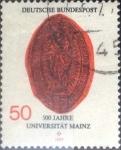 Sellos de Europa - Alemania -  Scott#1252 , intercambio 0,20 usd. , 50 cents. , 1977