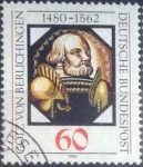 Stamps Europe - Germany -  Scott#1324 , intercambio 0,20 usd. , 60 cents. , 1980