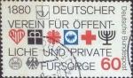 Sellos del Mundo : Europa : Alemania : Scott#1326 , intercambio 0,20 usd. , 60 cents. , 1980