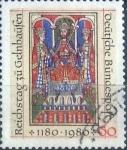 Sellos del Mundo : Europa : Alemania : Scott#1327 , intercambio 0,20 usd. , 60 cents. , 1980