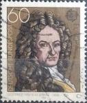 Sellos del Mundo : Europa : Alemania : Scott#1329 , intercambio 0,20 usd. , 60 cents. , 1980