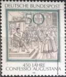 Sellos del Mundo : Europa : Alemania : Scott#1330 , intercambio 0,20 usd. , 50 cents. , 1980