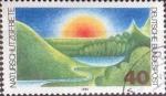 Sellos del Mundo : Europa : Alemania : Scott#1331 , intercambio 0,20 usd. , 40 cents. , 1980