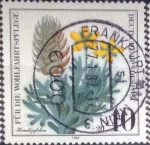 Stamps : Europe : Germany :  Scott#B577 , intercambio 0,45 usd. , 40+20 cents. , 1980