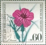 Stamps : Europe : Germany :  Scott#B579 , intercambio 0,65 usd. , 60+30 cents. , 1980