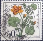 Stamps : Europe : Germany :  Scott#B590 , intercambio 0,50 usd. , 50+25 cents. , 1981