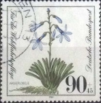 Stamps : Europe : Germany :  Scott#B592 , intercambio 1,25 usd. , 90+45 cents. , 1981