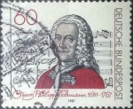 Stamps : Europe : Germany :  Scott#1344 , intercambio 0,20 usd. , 60 cents. , 1981