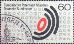 Sellos del Mundo : Europa : Alemania : Scott#1347 , intercambio 0,20 usd. , 60 cents. , 1981