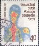 de Europa - Alemania -  Scott#1348 , intercambio 0,20 usd. , 40 cents. , 1981