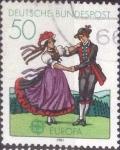 de Europa - Alemania -  Scott#1349 , intercambio 0,20 usd. , 50 cents. , 1981
