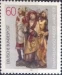 de Europa - Alemania -  Scott#1352 , intercambio 0,20 usd. , 60 cents. , 1981