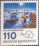 Sellos de Europa - Alemania -  Scott#1353 , intercambio 0,50 usd. , 110 cents. , 1981