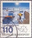 de Europa - Alemania -  Scott#1353 , intercambio 0,50 usd. , 110 cents. , 1981