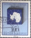 Stamps Germany -  Scott#1362 , intercambio 0,30 usd. , 100 cents. , 1981