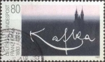 Stamps Germany -  Scott#1395 , intercambio 0,30 usd. , 80 cents. , 1983