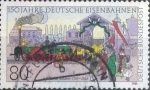 Sellos de Europa - Alemania -  Scott#1450 , intercambio 0,30 usd. , 80 cents. , 1985