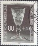 sellos de Europa - Alemania -  Scott#B650 , intercambio 1,10 usd. , 80+40 cents. , 1986