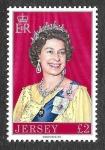 Sellos de Europa - Reino Unido -  155 - Isabel II