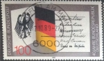 de Europa - Alemania -  Scott#1577 , intercambio 0,60 usd. , 100 cents. , 1989