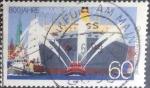 sellos de Europa - Alemania -  Scott#1575 , intercambio 0,30 usd. , 60 cents. , 1989