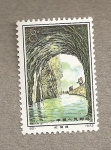 Stamps China -  Canal
