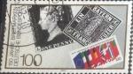 Sellos de Europa - Alemania -  Scott#1614 , intercambio 0,35 usd. , 100 cents. , 1990