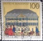 Sellos de Europa - Alemania -  Scott#B718 , intercambio 2,00 usd. , 100+50 cents. , 1991