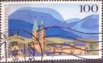 Sellos del Mundo : Europa : Alemania : Scott#1794 , intercambio 0,50 usd. , 100 cents. , 1993