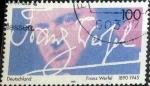 Sellos del Mundo : Europa : Alemania : Scott#1904 , intercambio 0,45 usd. , 100 cents. , 1995