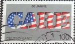 Sellos del Mundo : Europa : Alemania : Scott#1912 , intercambio 0,45 usd. , 100 cents. , 1995