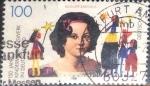 Sellos del Mundo : Europa : Alemania : Scott#1915 , intercambio 0,50 usd. , 100 cents. , 1995
