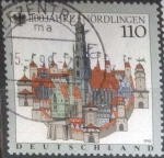 Stamps : Europe : Germany :  Scott#1989 , intercambio 0,70 usd. , 110 cents. , 1998