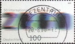 Stamps : Europe : Germany :  Scott#2067 , intercambio 0,60 usd. , 100 cents. , 2000