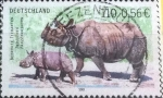 Stamps : Europe : Germany :  Scott#2125 , intercambio 1,00 usd. , 110cents./0,56 € , 2001