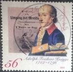 Sellos del Mundo : Europa : Alemania : Scott#2148 , intercambio 1,00 usd. , 56 cents. , 2002