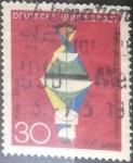 Sellos del Mundo : Europa : Alemania : Scott#980 , intercambio 0,20 usd. , 10 cents. , 1968