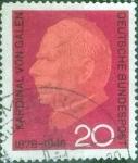 Sellos del Mundo : Europa : Alemania : Scott#960 , intercambio 0,20 usd. , 20 cents. , 1966