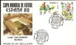 Sellos del Mundo : Europa : España : Mundial de Fútbol España 82 - Estadio
