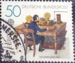 Stamps : Europe : Germany :  Scott#1291 , crf intercambio 0,20 usd. , 50 cents. , 1979