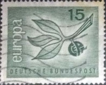Stamps : Europe : Germany :  Scott#867 , intercambio 0,20 usd. , 15 cents. , 1963