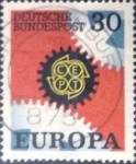 Stamps : Europe : Germany :  Scott#997 , intercambio 0,20 usd. , 30 cents. , 1969