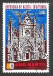 Stamps Africa - Equatorial Guinea -  Mi363 - Año Santo 1975 (Iglesias)