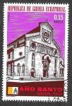 Sellos de Africa - Guinea Ecuatorial -  Mi365 - Año Santo 1975 (Iglesias)