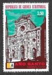 Sellos de Africa - Guinea Ecuatorial -  Mi367 - Año Santo 1975 (Iglesias)