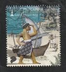Stamps : Asia : Singapore :  Bicentenario de Prequel i before 1400
