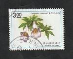 Stamps : Asia : Taiwan :  1911 - Planta lysionotus montanus